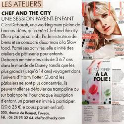 Article dans Elle Magazine