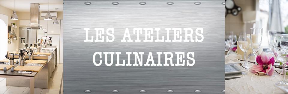 Tout sur les ateliers culinaires