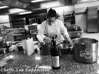 Chef lea capdeviolle chef and the city