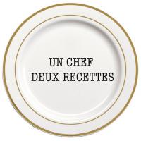 Deux recettes par un Chef