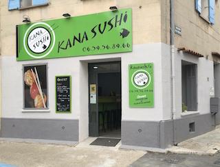 Facade exterieur kana sushi