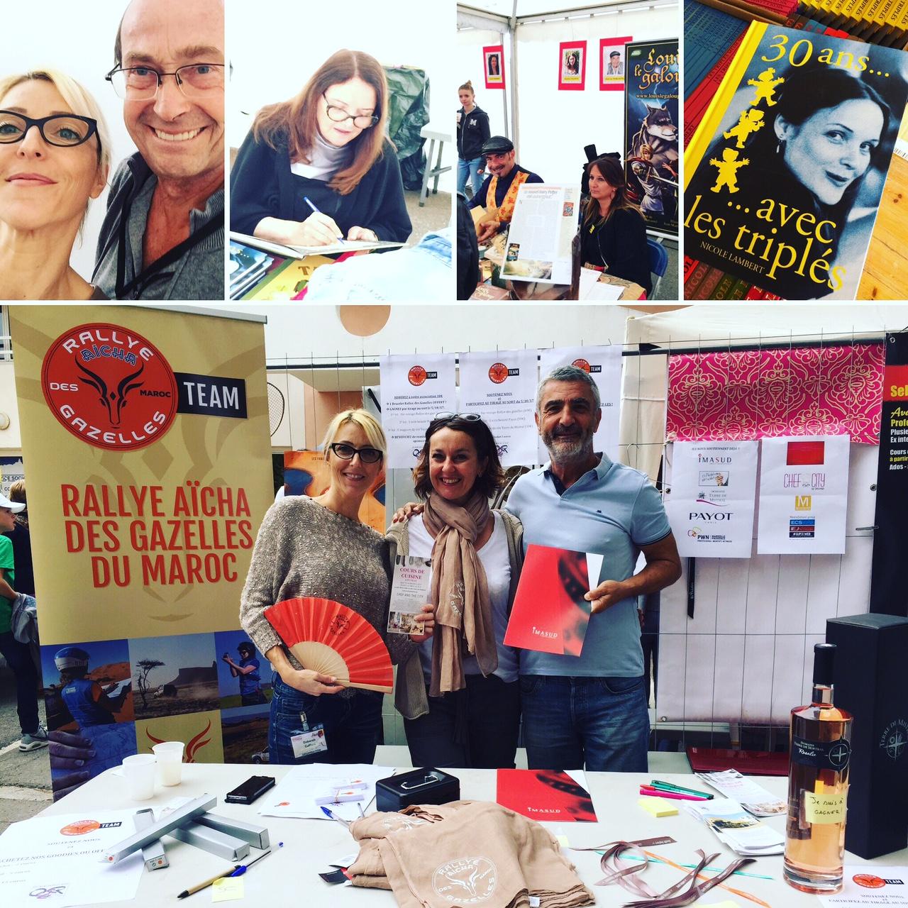 Salon littéraire à Fuveau 2017