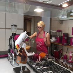 Training pâtisserie pour Deb