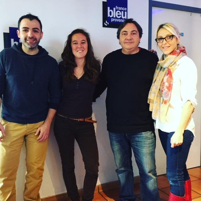 Passage sur France Bleu Provence avec Melanie Masson pour le Téléthon des Chefs