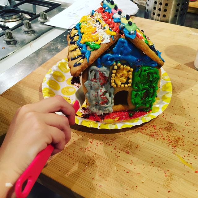 Atelier Enfants spécial Maison en Pain d'épices
