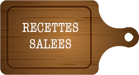 MES RECETTES SALEES