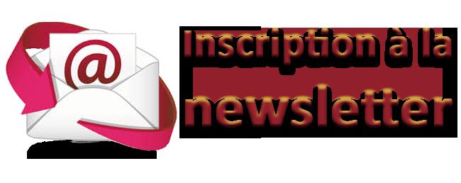 Abonnez-vous à notre Newsletter!